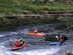 Wildwasser-Kajak am Doubs