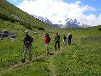 Wanderung zum Saulajoch