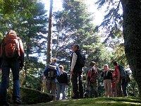 Wandergruppe am Taenchel in den Vogesen