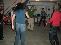 Party bei Pit in der Oldtimer-Werkstatt