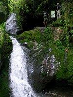 Wasserfall beim Edelfrauengrab