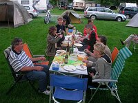 Camping bei Hausen im Tal