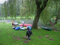 Regen statt Kanutour