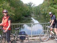 Radfahren durch Taubergießen